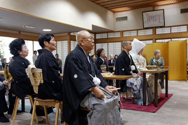 Wedding ceremony—a HBS couple creating a new family under the protection of Gohonzon
