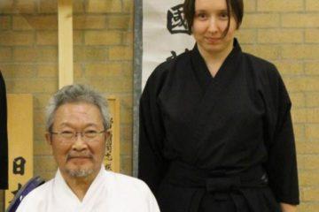 Nishimoto Chiharu Sensei - my iaido teacher who passed away last September