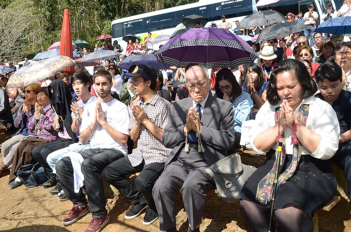 Chanting the Odaimoku, Namu Myōhō Renge Kyō, is the main practice of Honmon Butsuryū Shū