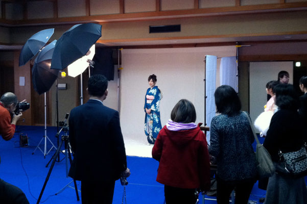 Seijin-shiki—coming of age ceremony to celebrate a young people's transition from childhood to adulthood