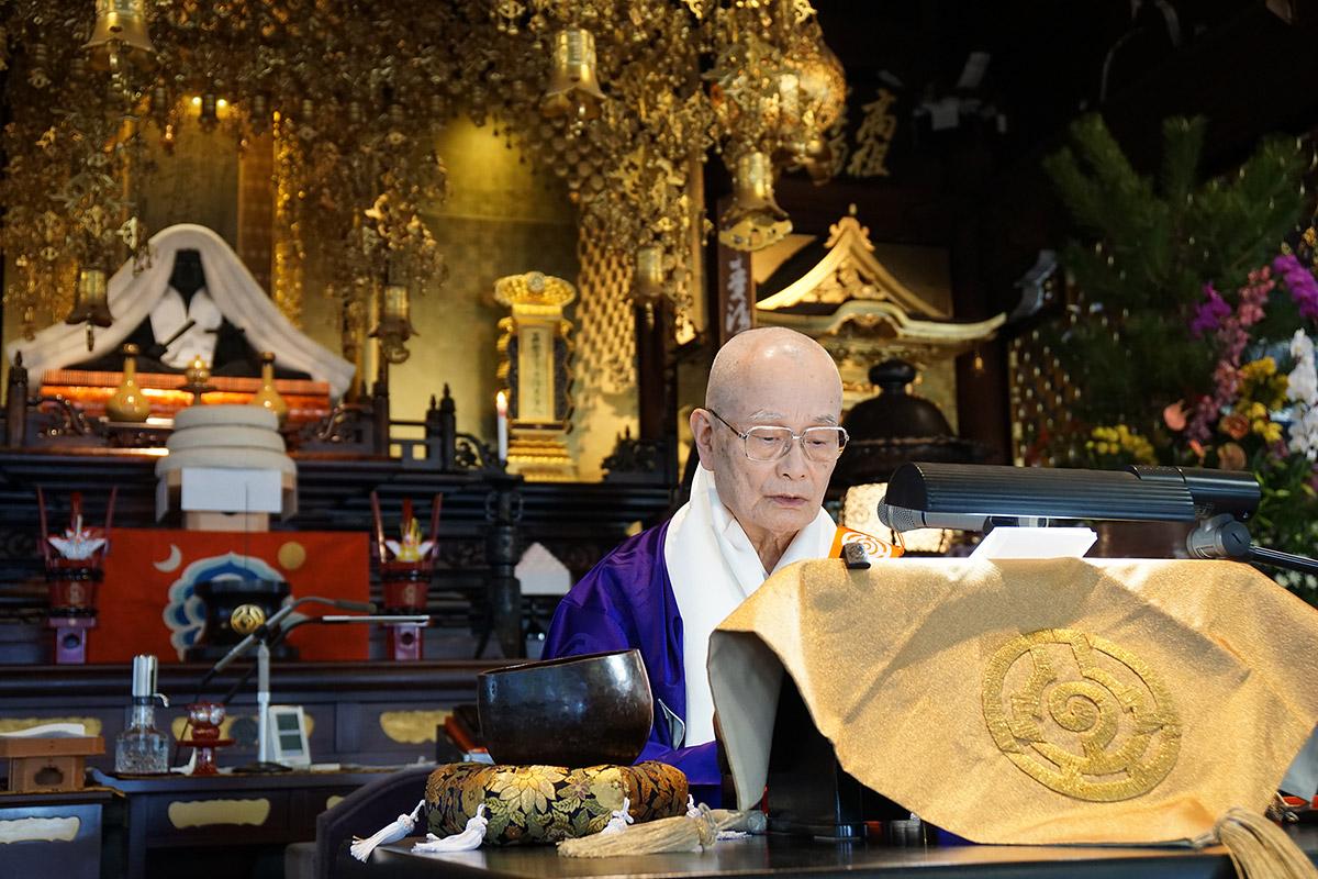 Gohōmon—sermon that improves and enhances the faith in Odaimoku