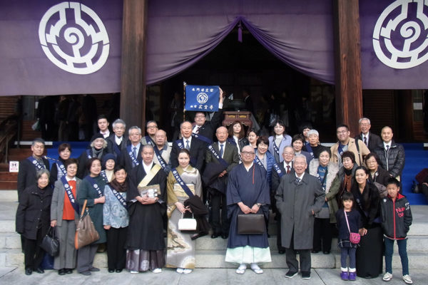 Kosenji group – except the people who were lost or late for the picture ^_^