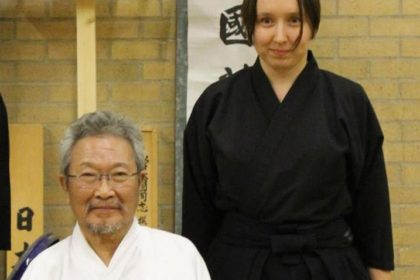 Nishimoto Chiharu Sensei - my iaido teacher who passed away last September