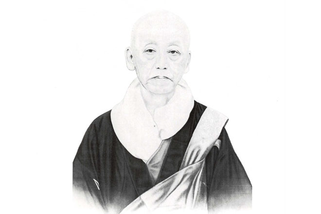 Seifu Nissen Nagamatsu, the founder of Honmon Butsuryū Shū